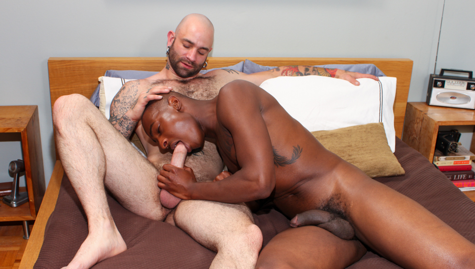 Gay Fetish XXX   Hot Gay Tight Asshole Black Hunk Oiled  Shower Then Plays With Big Cock