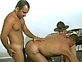 Bear Threesome Hard Anal Drilling