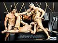 Paddy O'Brian, Sunny Colucci & Francois Sagat