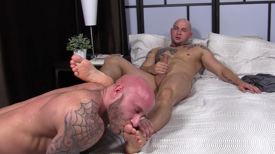 image Brother feet face gay toe sucking solo boy