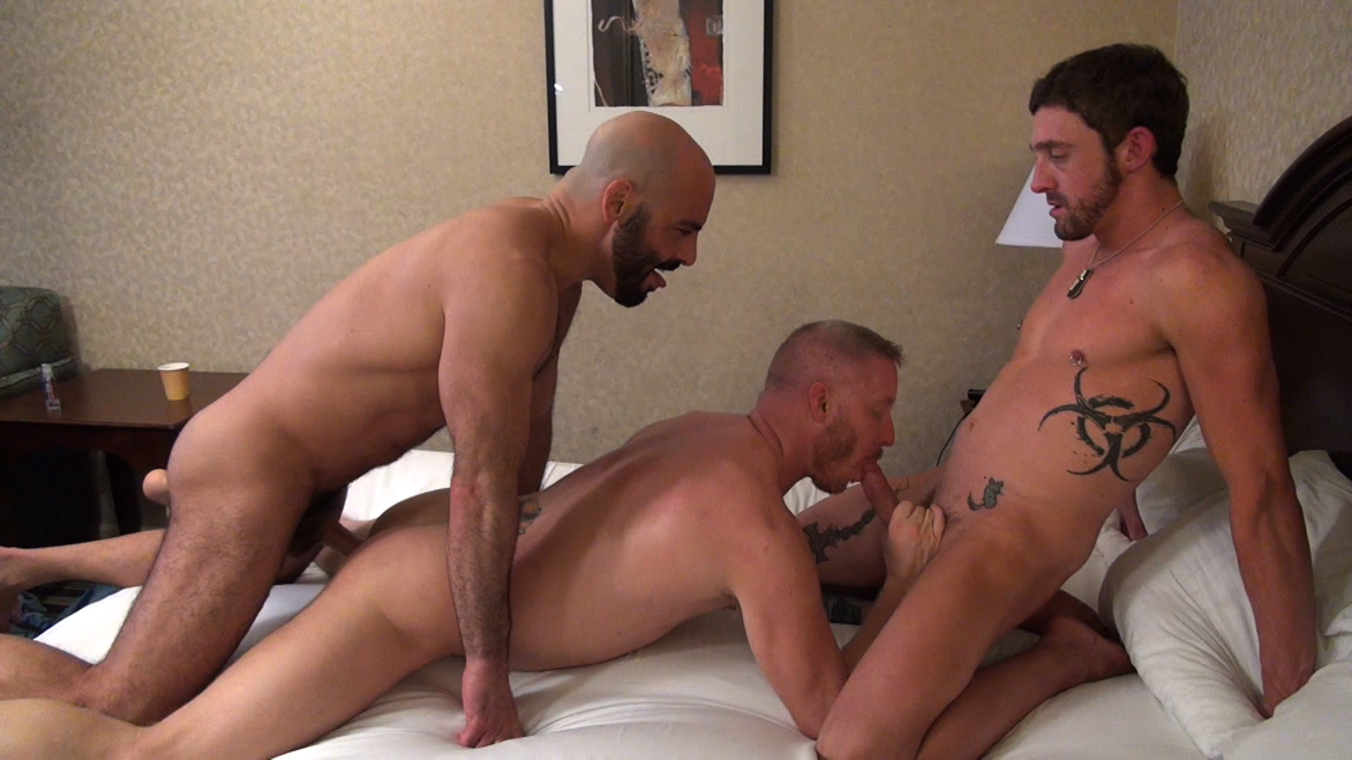 Adam Ruso Porn adam russo, dallas parker & kevin tyler - gay - adam russo and