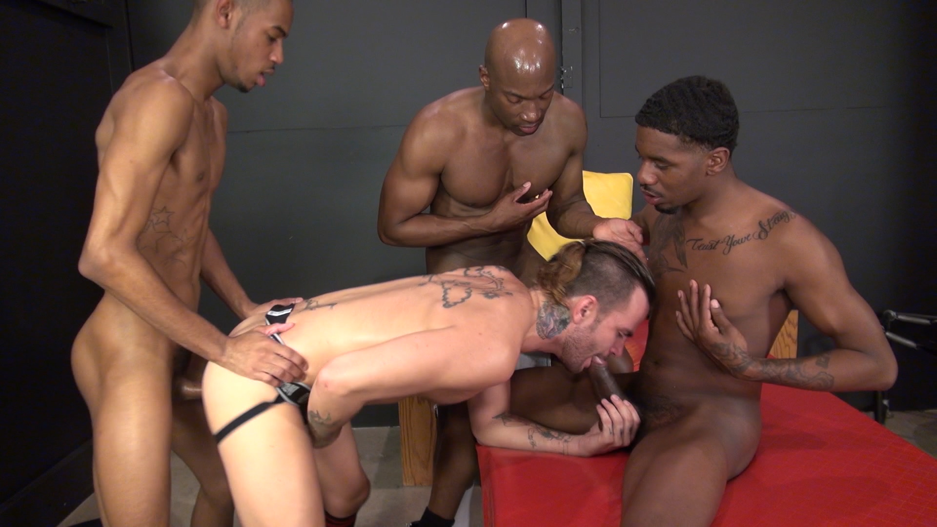 Homemade black threesome porn-6986