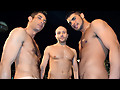 Drake Hanson, Nick Andrews and Zac Zaven