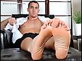 My Friends Feet: Koi's Feet In Dress Socks and Bare