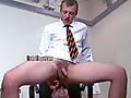 Brutal Tops: Hot urine dribbling from his mouth