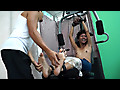 Idol Tickled On The Gym