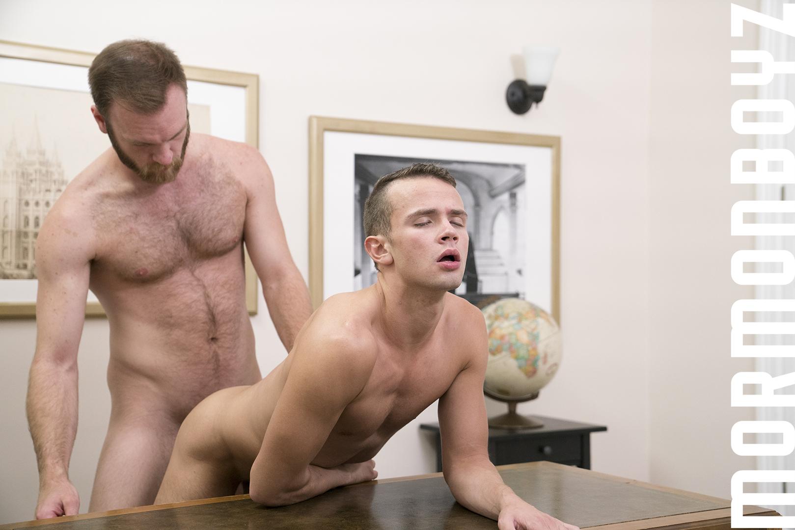 Sexy blonde masturbates at home