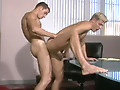 Red Alert by Falcon Studios features Michael Lucas giving a hot little twink a nice deep dicking in his tight little twink ass, making that twink's cock get all hard and drip pre-cum.