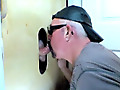 Fucked By a Fan At The Gloryhole