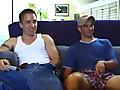 Curious Straight Boy Gay Threesome