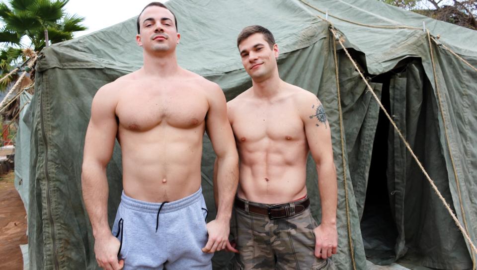 porn Bisexual soldier