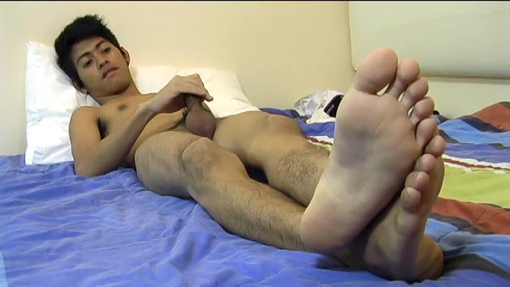 Asian boy feet videos