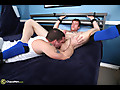 With only about 5-6 strokes he is unloading into his mouth