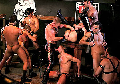 Free Gay Leather Porno