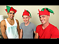 Straight Rent Boys: The 3 Naughty Elves