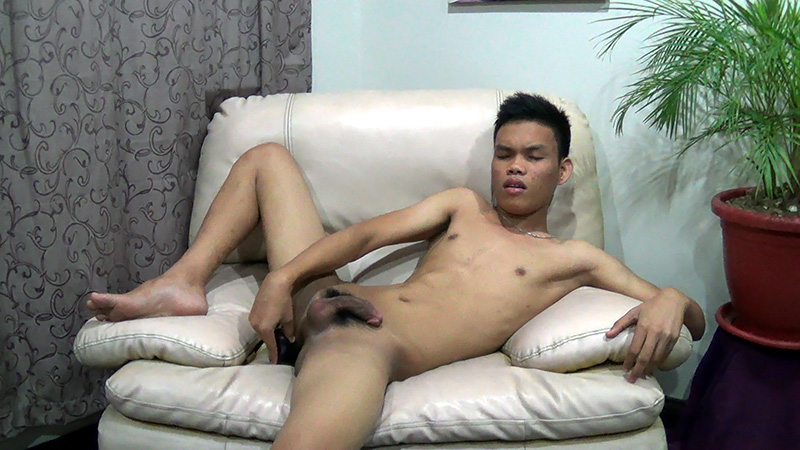 Asian and white gay sex