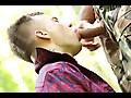 Gay War Games: Somewhere in the Woods - #3 & My New Blond Boyfriend - #1