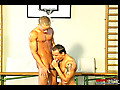 Doubled Stuffed Muscle Hunk Clip # 1