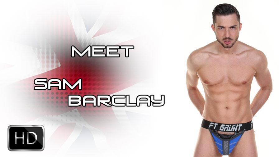 ManSurfer Sam Barclay - Meet the Model