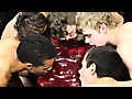 Jizz Addiction: Anthony Evans, Conner Bradley, Kyler Moss, Robbie Anthony & Timo Garrett