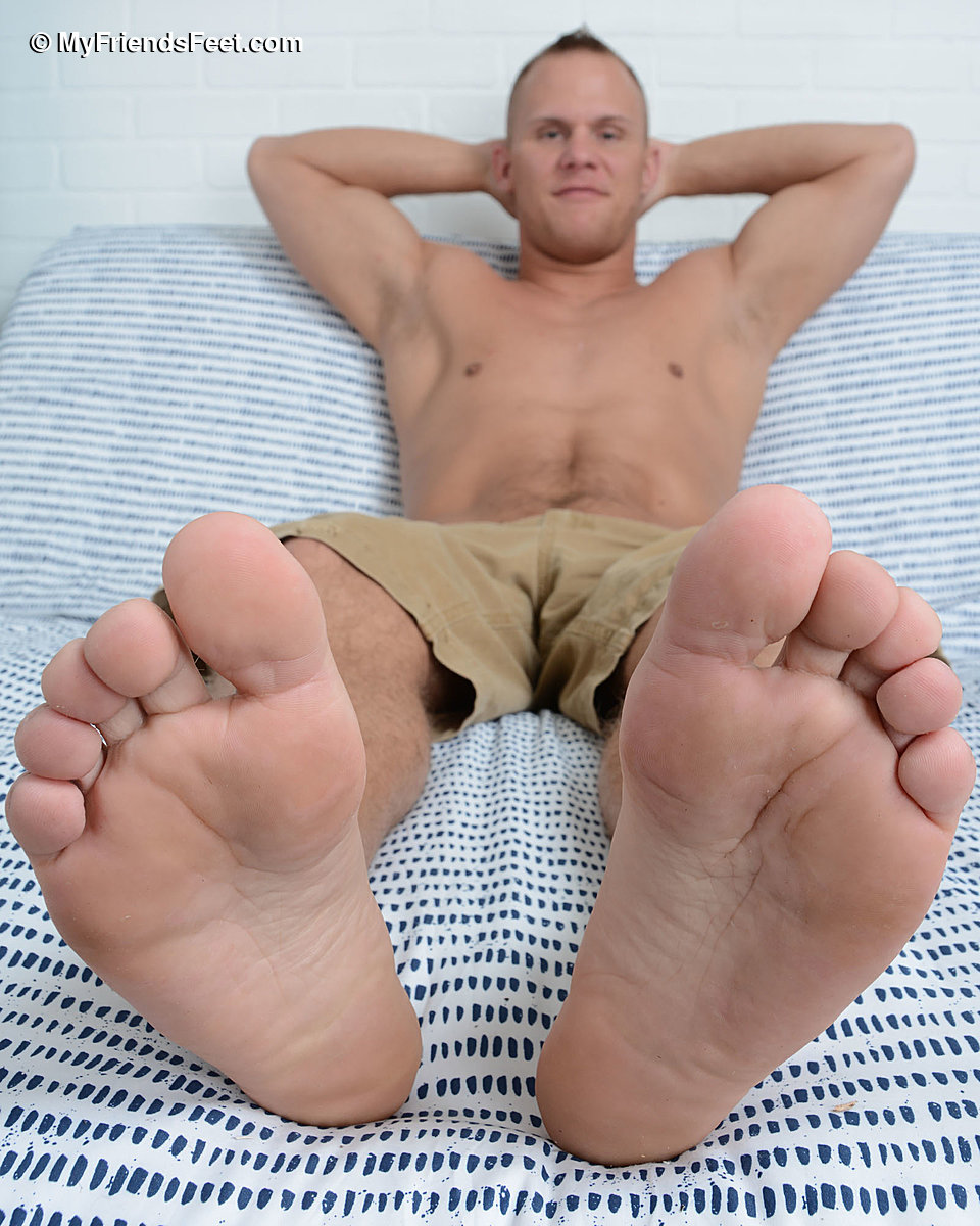 Austin Andrews' Army Feet