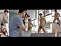 Bentley Race: Soap up with Reece in this bathroom BTS video