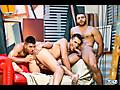 Paddy O'Brian, Diego Lauzen & Theo Ford