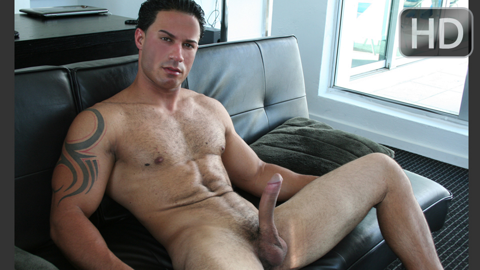 Handsome latino gets lucky 5
