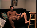 ManHub: Beefy straight dude strokes his knob