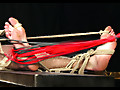 Roped Studs: Chad - Straight slave roped by his balls and face-fucked