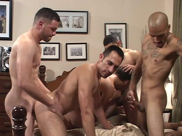 Muscular men fucking each other