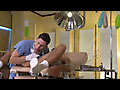This nasty exam room clip from Asylum by Falcon Studios features Dominic Pacifico and TJ Hawke in a hospital dick sucking scene, with latex gloves touching that hard wet cock all over.