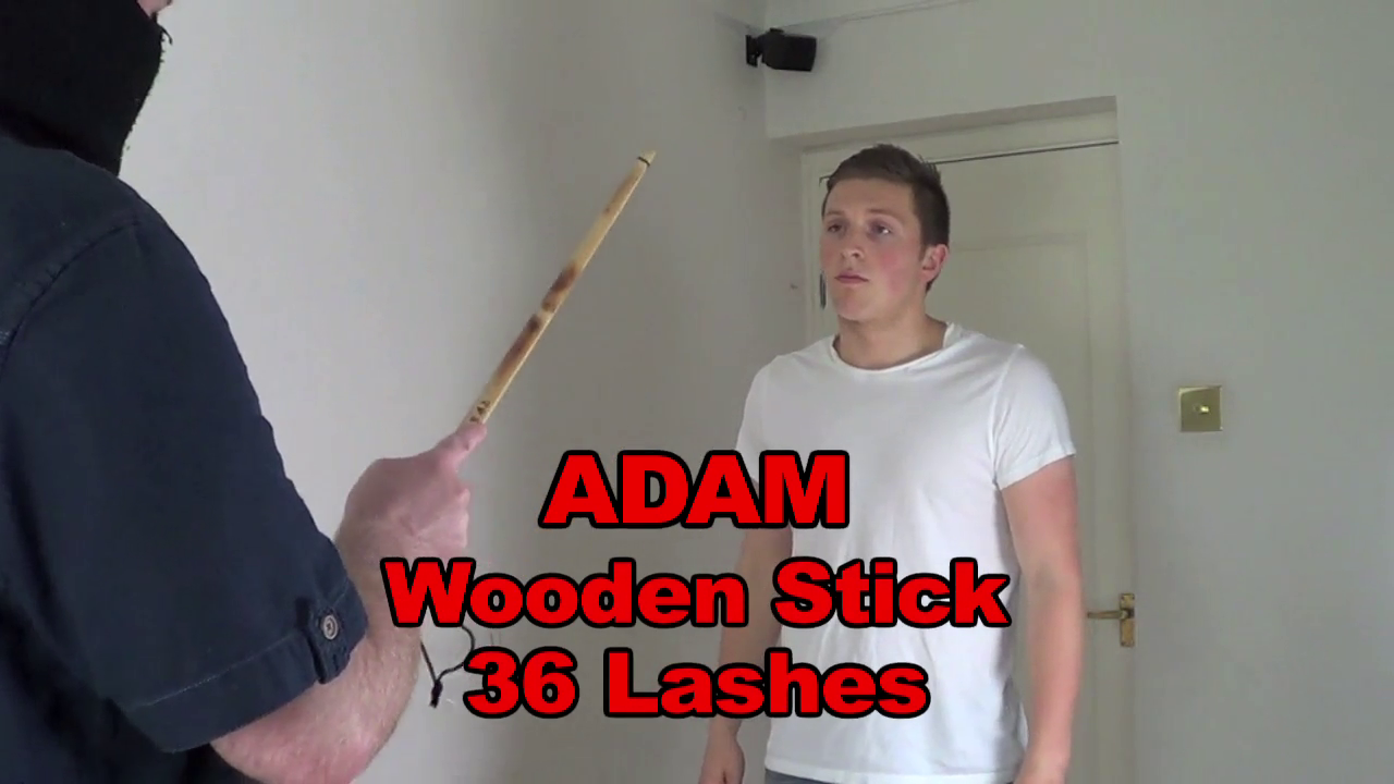 ManSurfer Adam - Wooden Stick - 36 Lashes