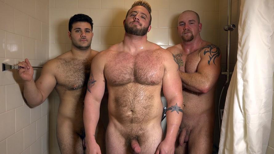 huge hairy guys with big cocks