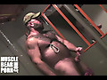 Muscle Bear Porn: Daddy Will Angell's Hardcore Nipple Play JO