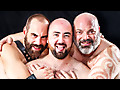 Hairy and Raw: Trent Turner, Steve Sommers & Tristan Riant