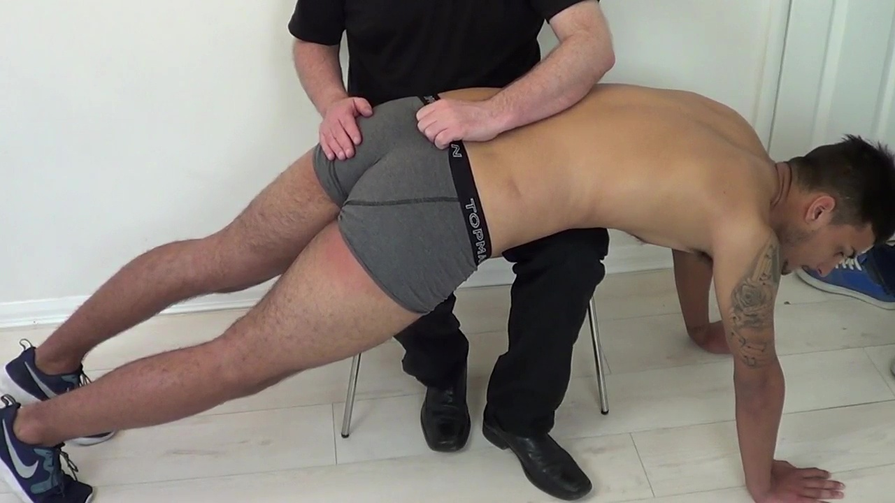 Chris & Taylor - Late For Their Spankings