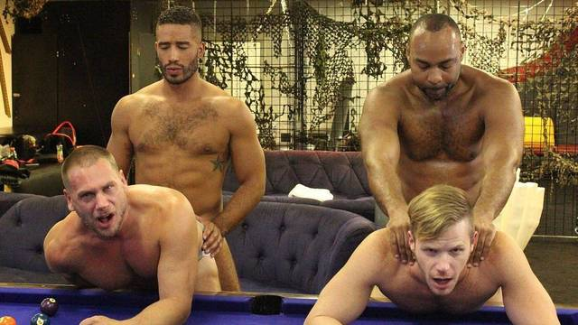 ManSurfer Ray Diesel, Hans Berlin, Trey Turner & Brian Bonds