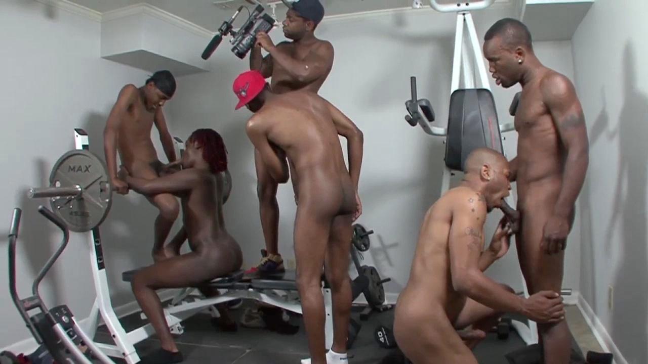 Gay thug orgy
