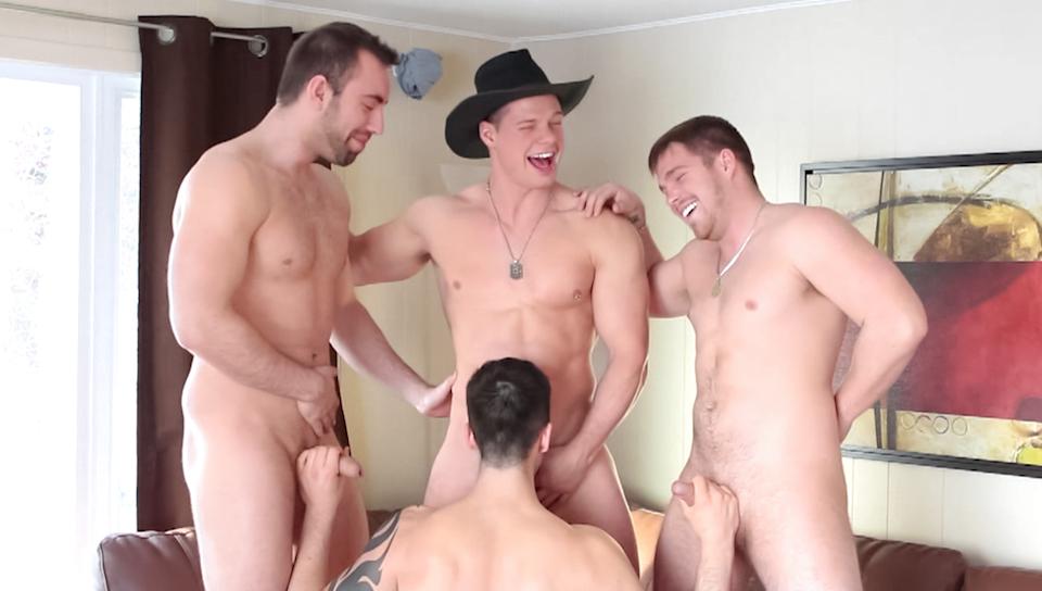 image Straight men gang bang gays steven arched